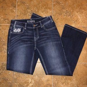 Rock & Roll Bootcut Jeans.